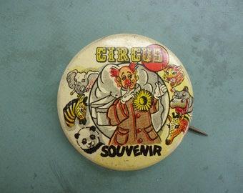 Circus Souvenir Pin