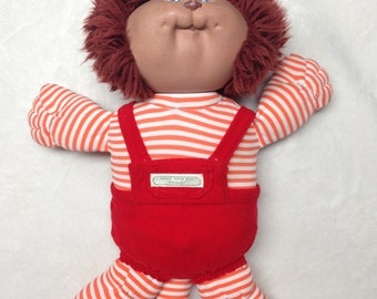 "Vintage Cabbage Patch Kid ""Koosas"" Leo the Lion With Outfit (1983)"