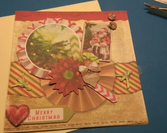 3D 945 hand made greeting card