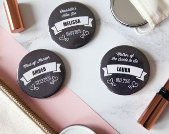 Personalised Chalkboard Mirror or Badge