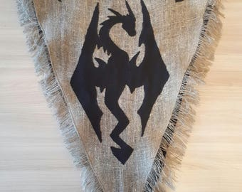 Inspired Archmage's Robes Skyrim, Handmade Prop Replica The Elder Scrolls V: Skyrim, Comic Con, Dragon Priest Cosplay, Halloween costume.