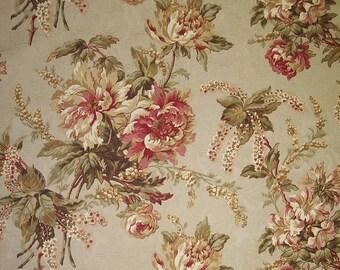 Clarinda color Antique Richloom Jacquard Flower Floral Fabric