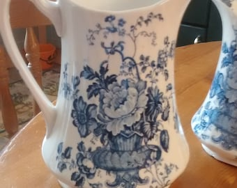 A pair of Alfred Meakin jugs Entitled , Charlotte,.