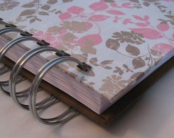 Devotional Journal - Daily Devotion - Bible Notebook - Bible Verse Journal - Prayer Journal - Bible Memory - Morning Devotions - Pink Floral