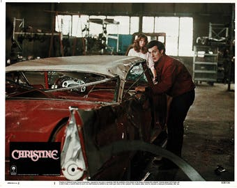 Christine – 1983 – Original US lobby card  #  1