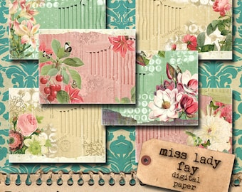 Miss Lady Fay - Digital Paper Pack
