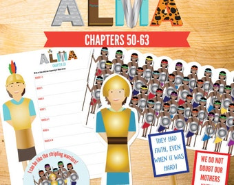 Book of Mormon Lessons: Alma 50-63