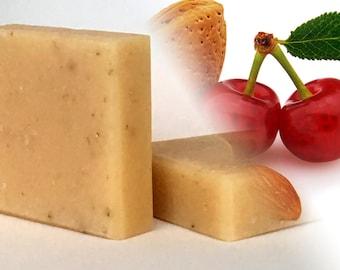 Almond Cherry Invigoration Soap
