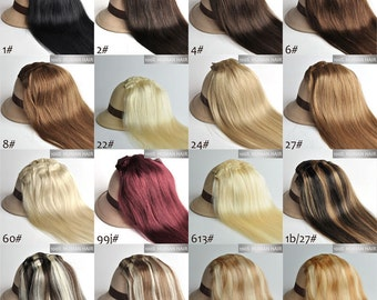 """24"""" 100g Magic-HALO -Miracle Secret wire 100% human hair extensions, 100 grams/ New colors/"""