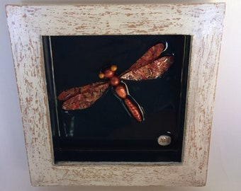 Dragonfly painting 3D