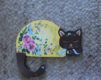Sleeping Cat, Original Cat Art, Cat Painting, Cat Art, Cat Portrait, Animal Painting, Cute Cat