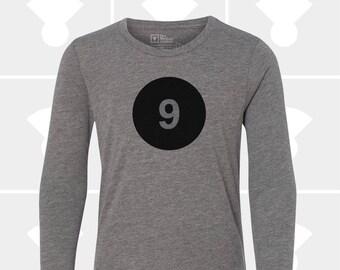 9th Birthday - Long Sleeve Shirt