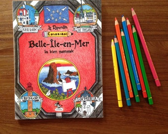 Reporter coloring: Belle-Ile-en-Mer, well named
