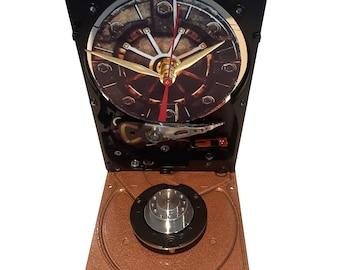 Hard Drive Clock with Gamer Fallout 4 Vault Door. Got Fallout Game Clock? Got Gamer Gift? Gamer Clock, Novelty Clock, Geek Clock!
