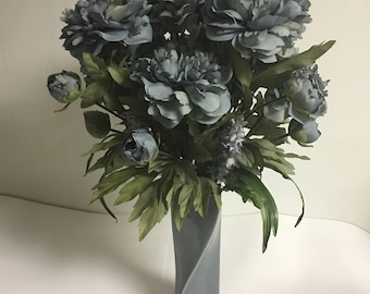Beautiful Blue Peonies