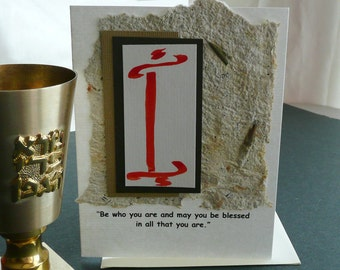 Bar Mitzvah Quote Card