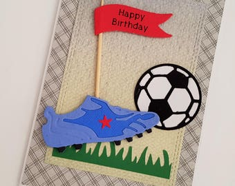 sports birthday card football birthday card little boy