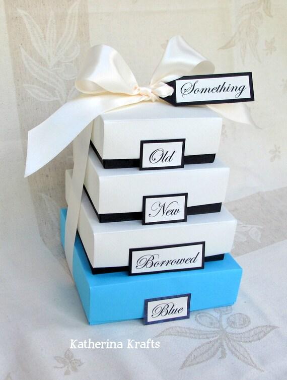 something blue wedding gift boxes something old something. Black Bedroom Furniture Sets. Home Design Ideas