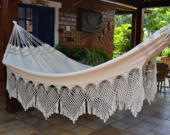 Hammock Natural Cotton Two Persons