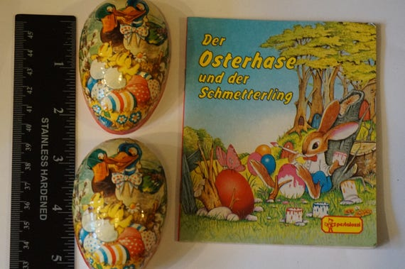 Easter Book Small Paper Made in Western Germany Egg