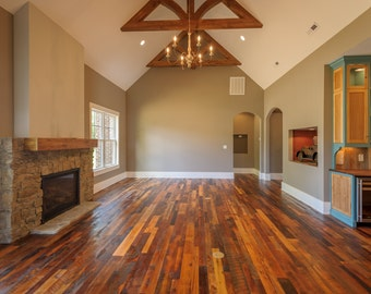 Authentic Reclaimed Wood Flooring
