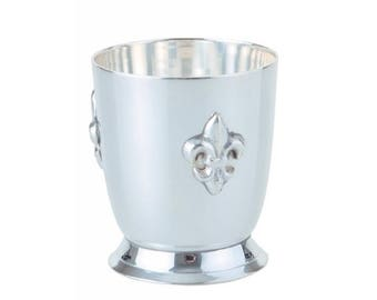 """Bourbon Can """"Lily"""" silver plated"""