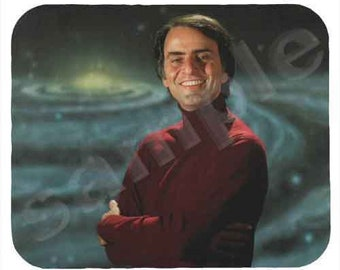 Mouse Pad; Carl Sagan