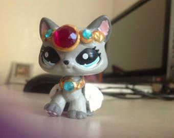 Custom LPS Angel Princess Cat
