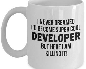 Developer Mug, Developer Gift, Gift For Developer, Personalized Developer, Developer, Graduation, Programmer Gift, Programmer Mug, Funny