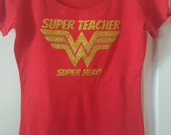 Super Teacher - Super  Hero