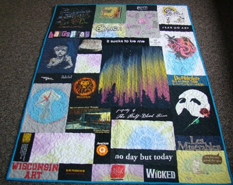 Custom Memory T-shirt Quilt - Large Lap - No Money Down