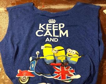 Upcycled Minion T-shirt Bag