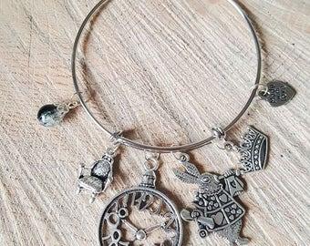 Alice In Wonderland Charm Bracelet | The White Rabbit