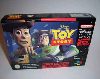 Toy Story Snes Super nintendo CIB Pal (New, Mint, Amazing condition)