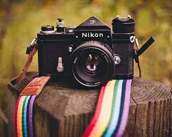 Rainbow Camera Strap