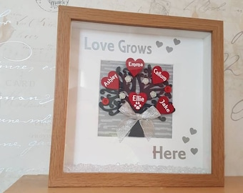 Love grows here family tree