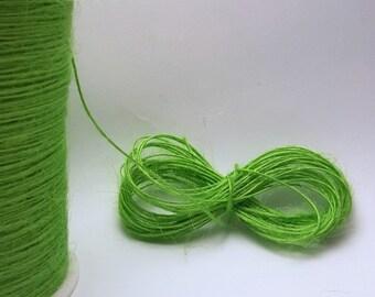 Spago corda. Pappagallo verde. 10 o 50 metri