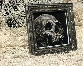 """3x3"""" Fauxpainted Framed """"Vlad"""" Print"""