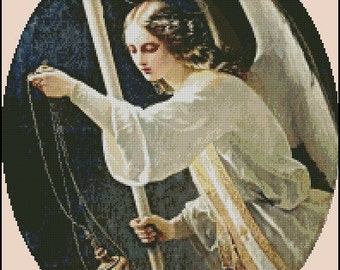 ANGEL cross stitch pattern No.555
