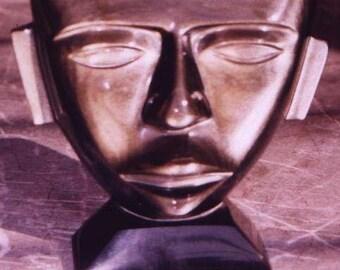 gold sheen obsidian mask