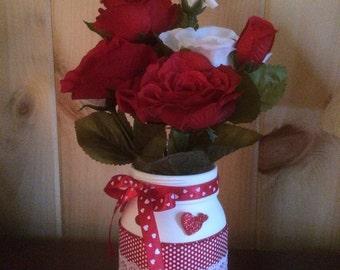 Valentine Mason Floral