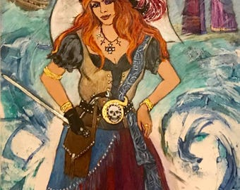 Grace O'Malley ~ Pirate Queen