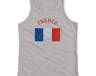 YOUTH France Country Flag Tank Top