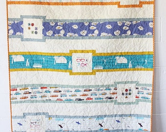 Love At Sea Quilt Pattern - PAPER PATTERN