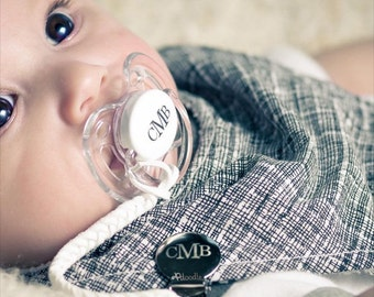 Personalize Pacifiers Monogram Personalize Pacifier Baby Personalize Pacifier Baby Boy Personalize Pacifier Personalize Baby Boy Gift 0-6m