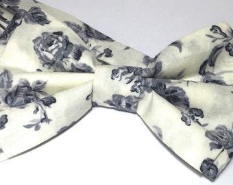 bow tie vintage flower