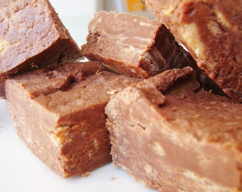 Julie's Fudge - PEANUT Butter Swirl - Half Pound