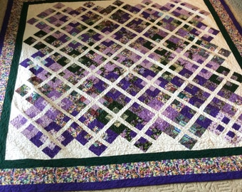 """Beautiful made to order quilt.  New size, 110"""" x 110"""", California King"""