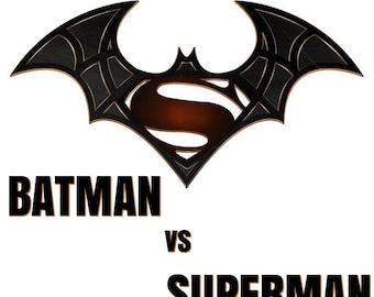 Batman vs Superman # 11 - 8 x 10 - T Shirt Iron On Transfer