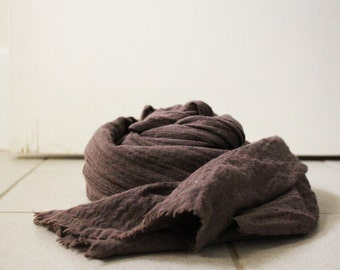 WOOL SCARF / texture / stripes / italian wool / handmade / made in australia / pamelatang